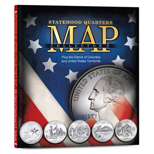 Statehood Quarters Collector's Map