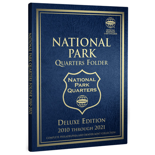 Whitman Deluxe Edition National Park Quarters Folder