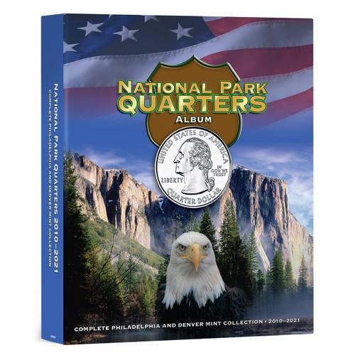 National Park Quarters Full Color Album P&D Mints