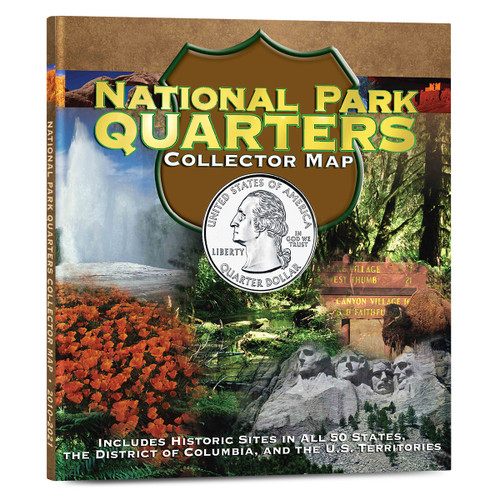 National Park Quarters - Foam Collector Map