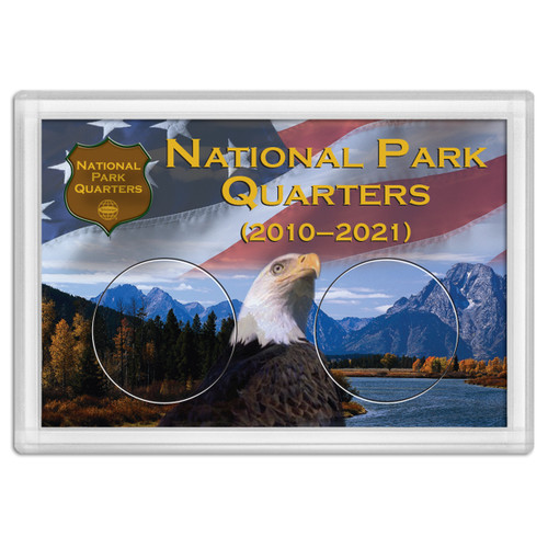 National Park Quarter Holder - Eagle 2x3
