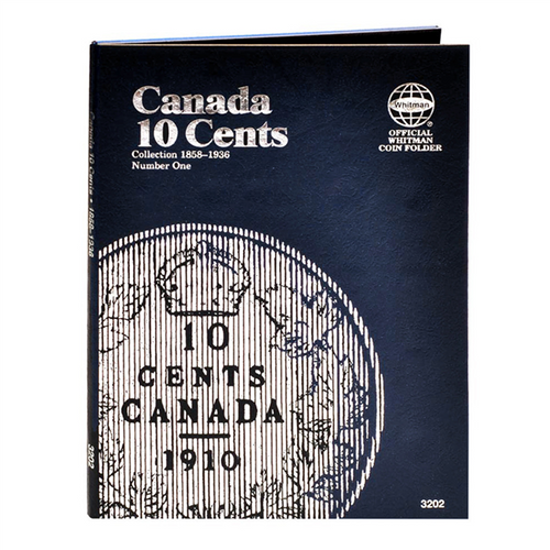 Canadian 10 Cents #1, 1858-1936