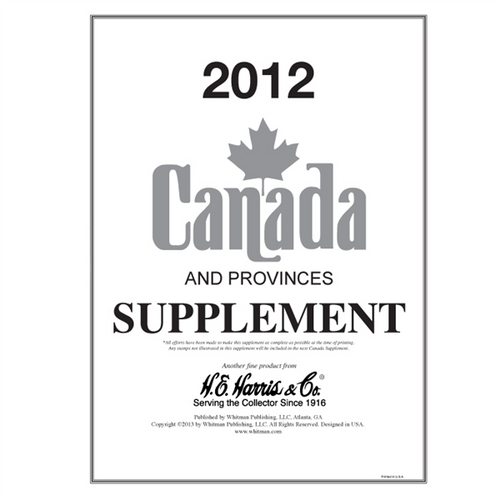 2012 Canada Supplement