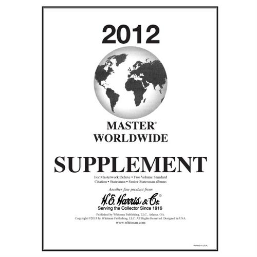 2012 Master Worldwide Supplement
