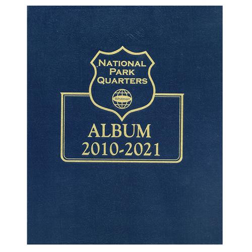 "National Park Single Mint Album - BONUS ""S"" QUARTER INCLUDED"