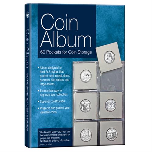 60-Pocket Coin Album