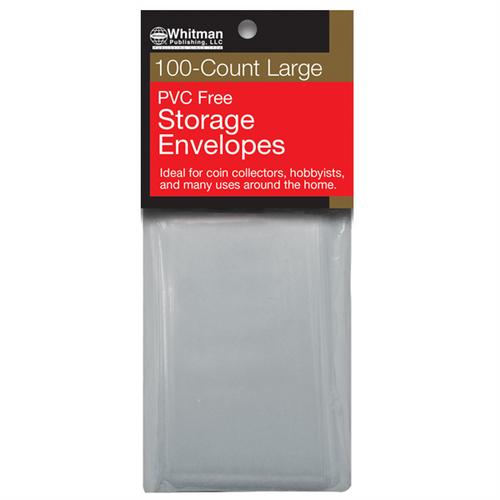 PVC-Free Poly Envelopes, Large