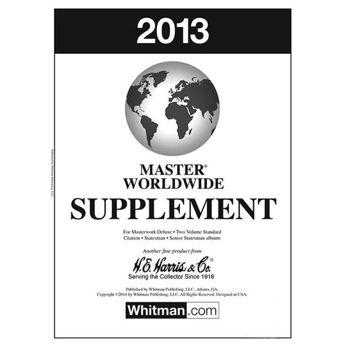 2013 Master Supplement