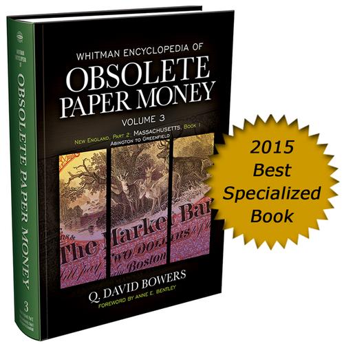 Whitman Encyclopedia of Obsolete Paper Money Volume 3
