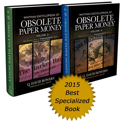 Whitman Encyclopedia of Obsolete Paper Money, Volumes 3 & 4