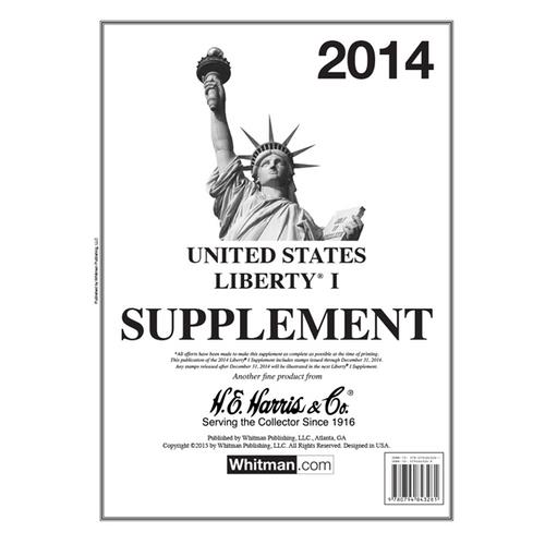 2014 Liberty I Stamp Supplement