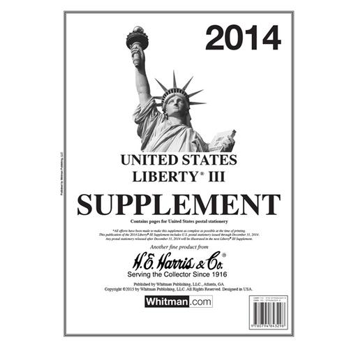 2014 Liberty III Stamp Supplement