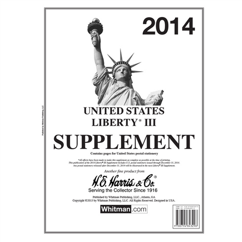 2014 Liberty III Stamp Supplement
