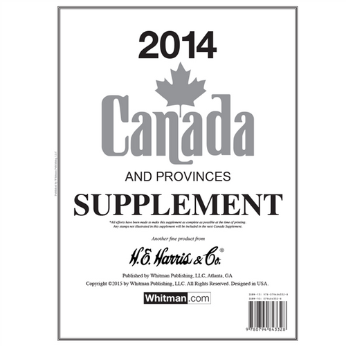 2014 Canada Stamp Supplement