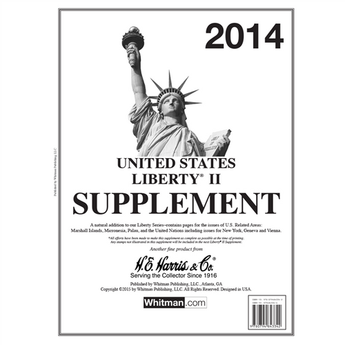 2014 Liberty II Stamp Supplement