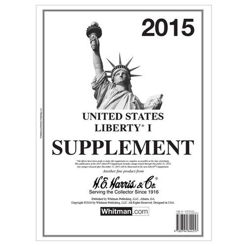 2015 Liberty I Stamp Supplement