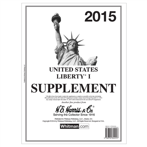 2015 Liberty I Stamp Supplement