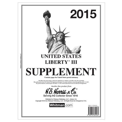 2015 Liberty III Stamp Supplement