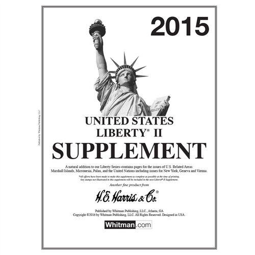 2015 Liberty II Stamp Supplement
