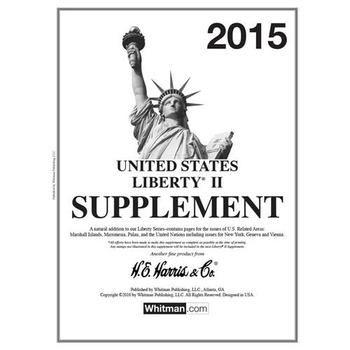 2015 Liberty II Stamp Supplement