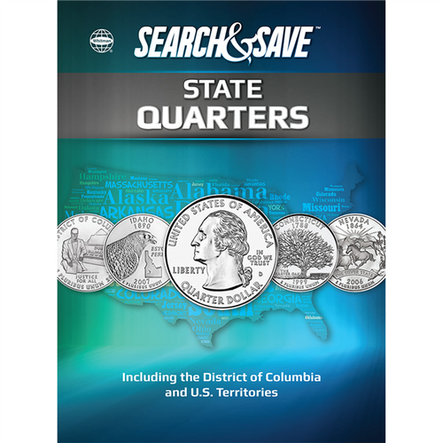 Search & Save: State Quarters ƒ??Including the District of Columbia and U.S. Territories