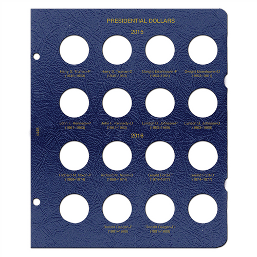 Dollar Presidential Philadelphia & Denver Mint Page (16 openings)