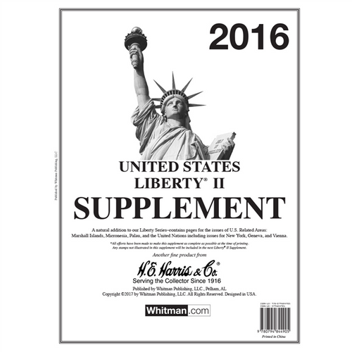2016 Liberty II Stamp Supplement