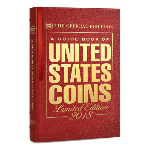 2018 Limited Edition Leather Red Book