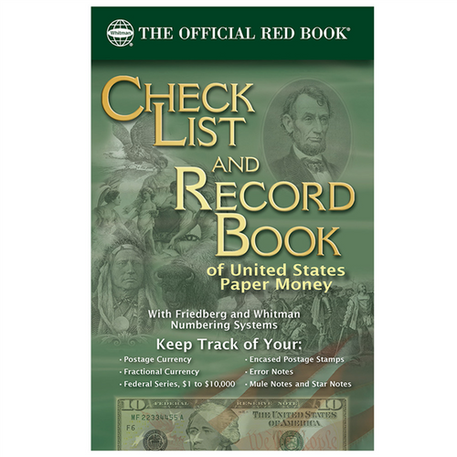 Check List and Record Book of United States Paper Money