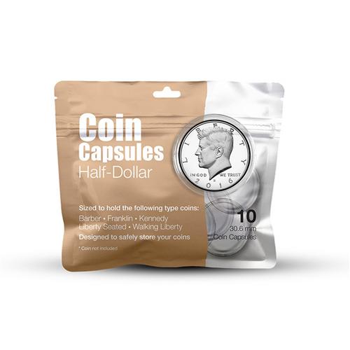 Half-Dollar Coin Capsule Pack