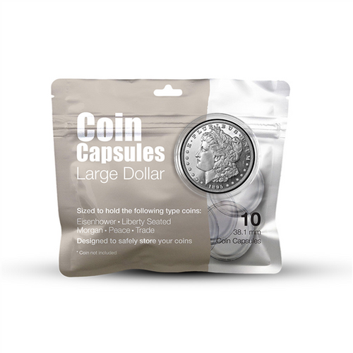 Large Dollar Coin Capsule Pack