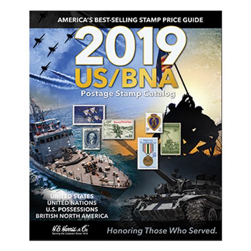 2019 US/BNA Postage Stamp Catalog