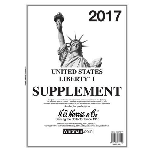 2017 Liberty I Stamp Supplement