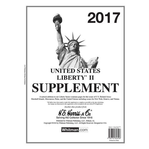 2017 Liberty II Stamp Supplement
