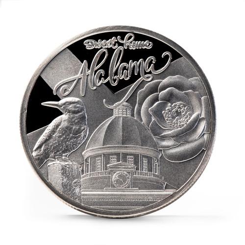 Alabama Bicentennial Sweet Home Commemorative Coin obverse