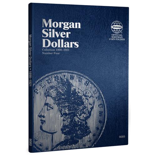 Morgan Silver Dollar Folder Number Four - Starting 1898-1921