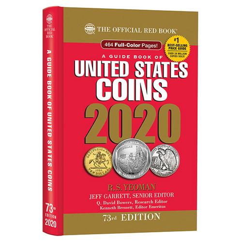 2020 Official Red Book of United States Coins - Hidden Spiral
