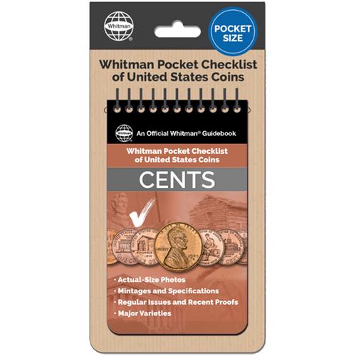 Whitman Pocket Checklist of United States: Cents