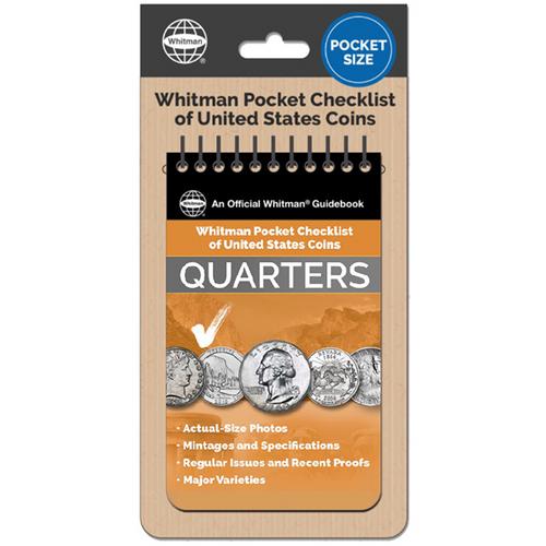 Whitman Pocket Checklist of United States: Quarters