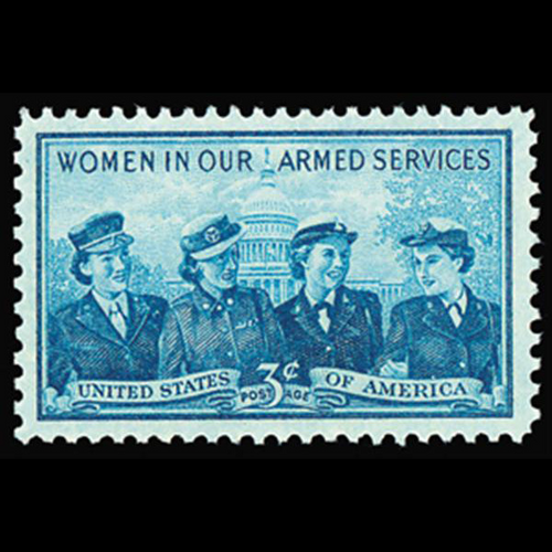 1952 3c Service Women Mint Single