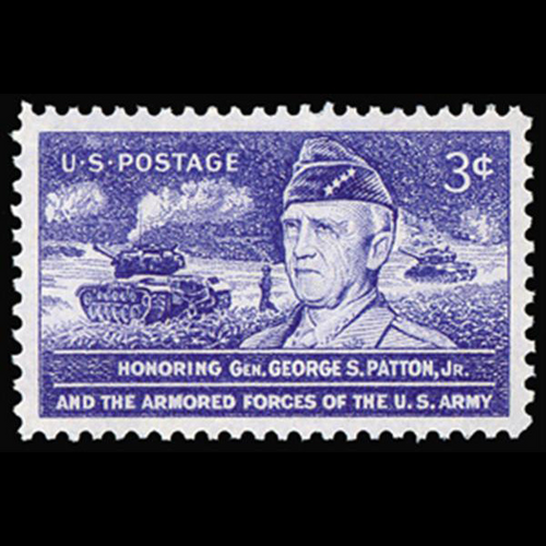 1953 3c General George S. Patton Mint Single