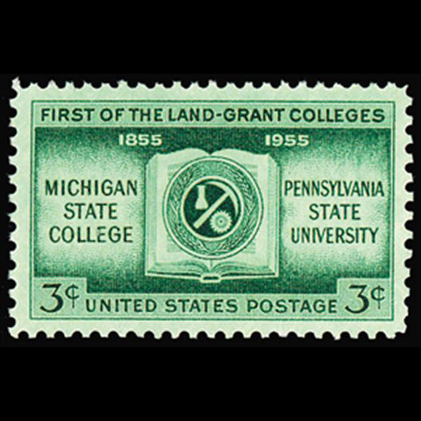 1955 3c Land Grant Colleges Mint Single