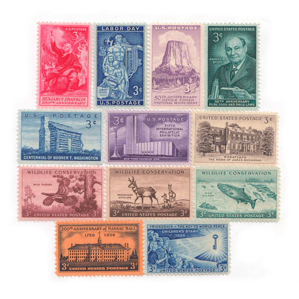 1956 Commemorative Mint Year Set