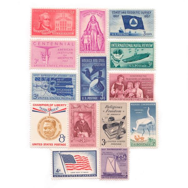 1957 Commemorative Mint Year Set