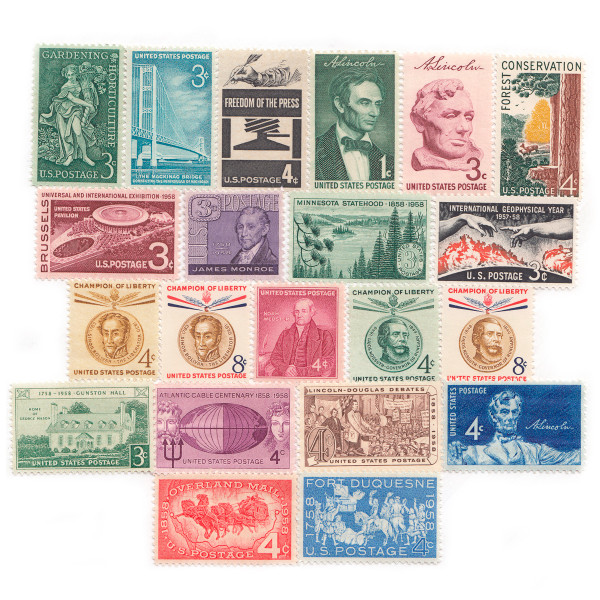 1958 Commemorative Mint Year Set