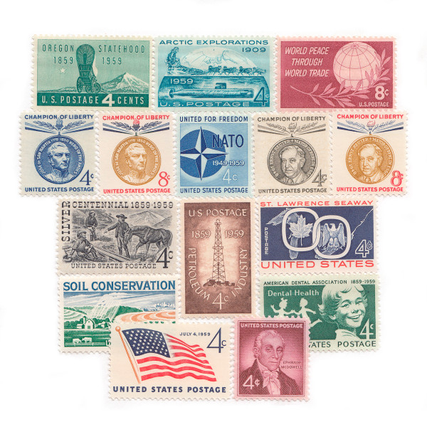 1959 Commemorative Mint Year Set