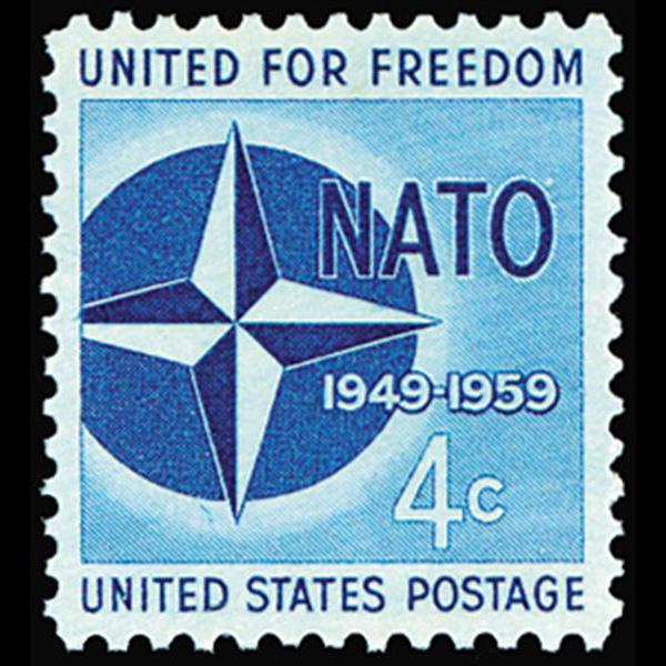 1959 4c NATO Mint Single