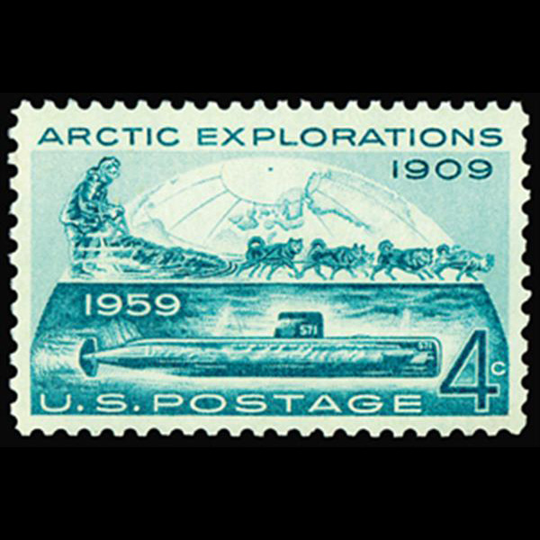 1959 4c Arctic Exploration Mint Single
