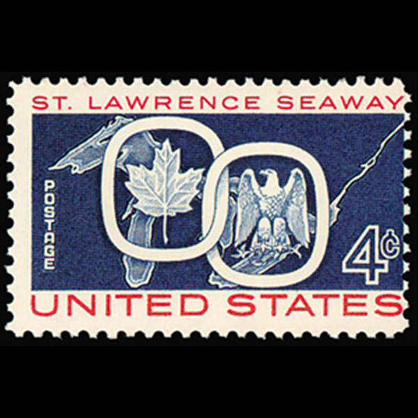 1959 4c St. Lawrence Seaway Mint Single