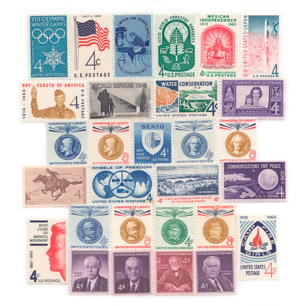 1960 Commemorative Mint Year Set